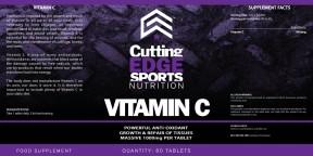0075CuttingEdge-Vitamin C 60Tabs